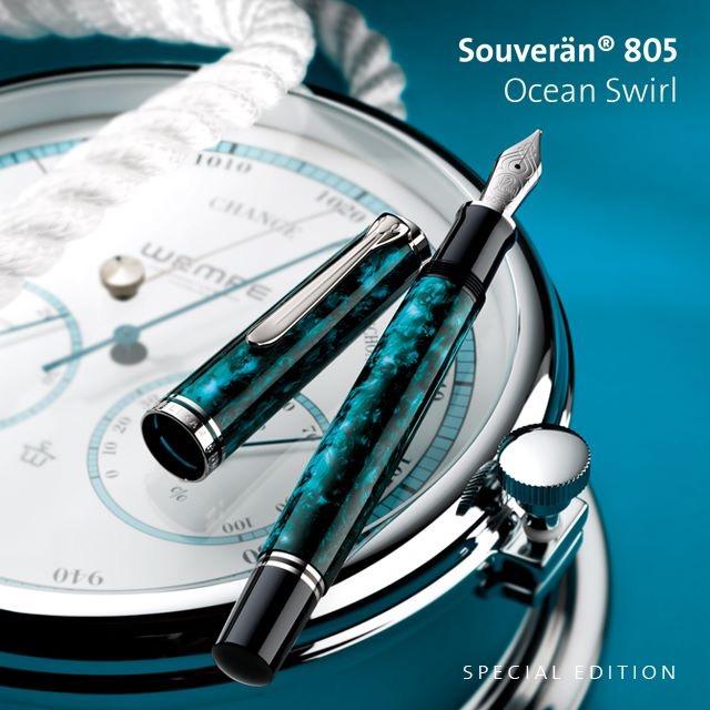 【万年筆】スーベレーンM805限定カラー2017