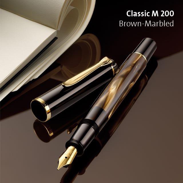 【万年筆】ペリカンM200マーブルカラーの新色
