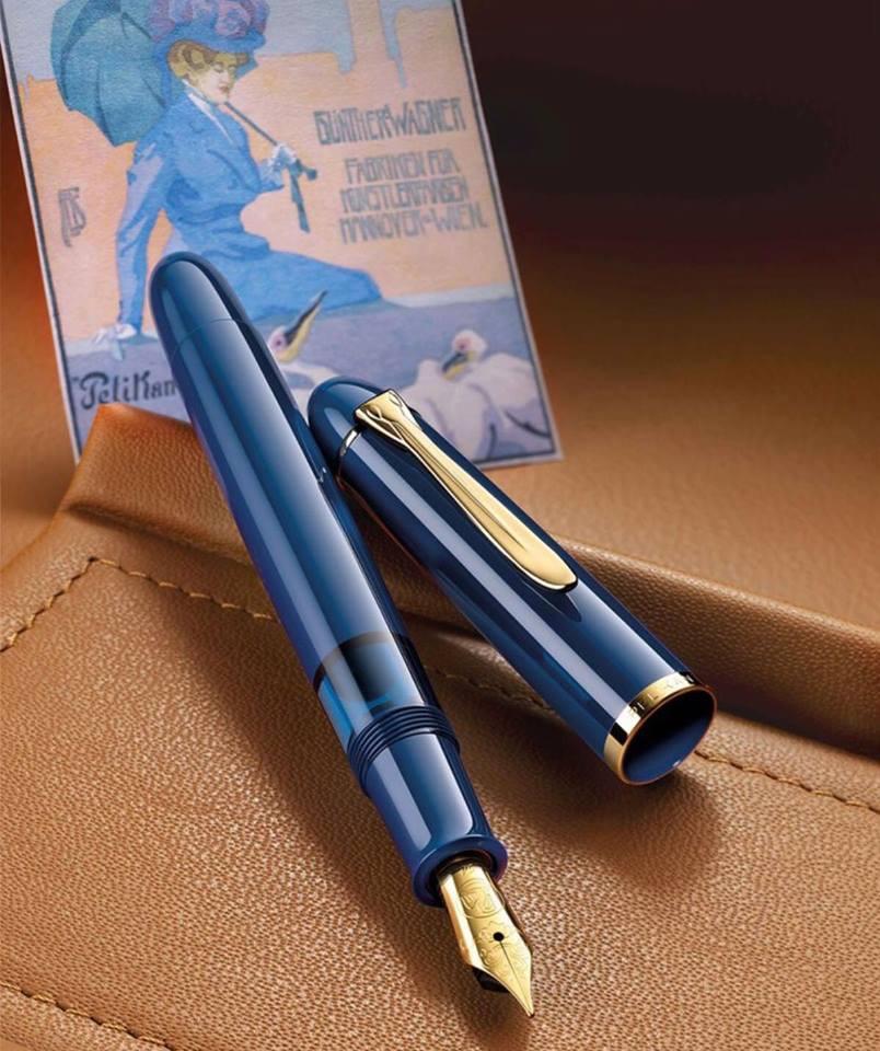 【万年筆】ペリカン M120 Iconic Blue
